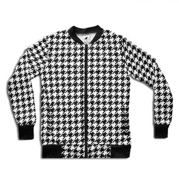 'klasik 2' Men's Printed Bomber Sweatshirt