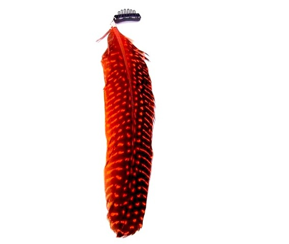 eye_catching_large_orange_black_feather_hair_clip_hair_accessories_2.jpg