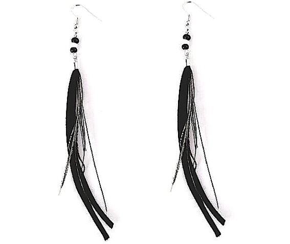 unique_wild_long_black_feather_strip_of_leather_bead_design_earrings_earrings_2.jpg