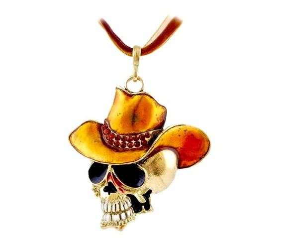 cool_skull_head_golden_yellow_cowboy_hat_pendant_pendants_2.jpg