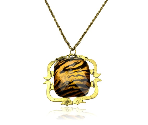 wild_gold_tiger_print_square_design_necklace_pendants_2.jpg