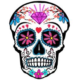 Sugar Skull Temporary Tattoo Inkwear