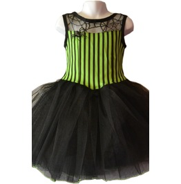 Cute Childs Goth Gothic Spooky Little Girl Vampire Party Dress