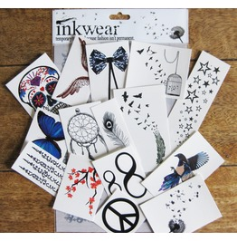 Popular: Pack Inkwear Temporary Tattoos
