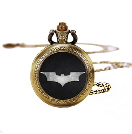 Batman Hero Pocket Watches Necklace,Gift Necklace,Unisex Necklace D165