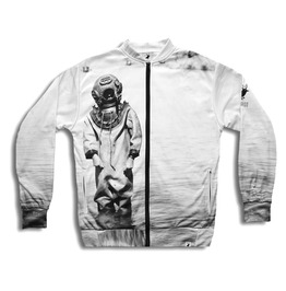 'deep Sea Diver' Men's Printed Bomber Sweatshirt