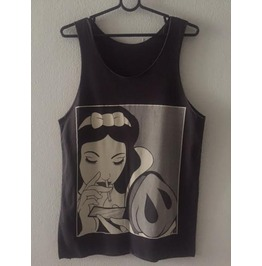 Evil Snow White Pop Rock Indie Vest Tank Top M