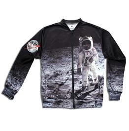 'astronaut' Women's Printed Bomber Sweatshirt