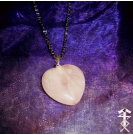 Heart Rose Quartz