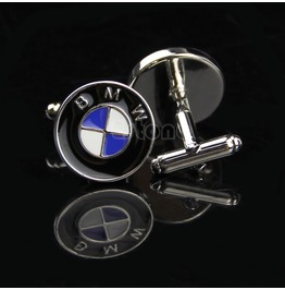 Bmw Super Car Racing Men Shirt Square Dc Marvel Wedding Groom Cuff Links
