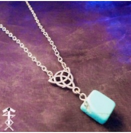 Turquoise Celtic Knot