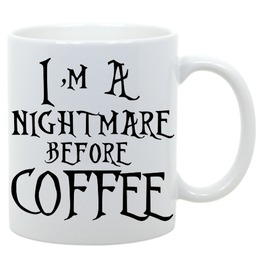 I'm Nightmare Coffee Gothic Nightmare Christmas Gift Mug