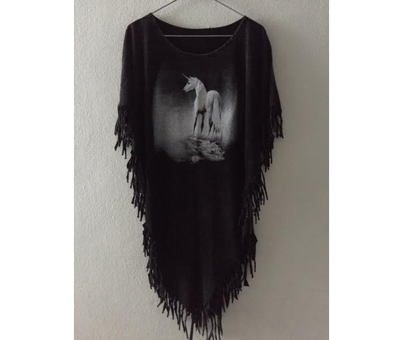 unicorn_animal_punk_hippie_batwing_tussle_fringes_stone_wash_poncho_dresses_4.jpg