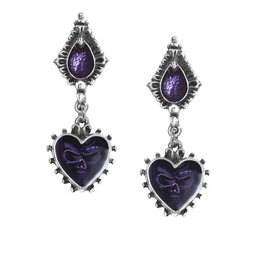 Mirror Soul Gothic Earrings By Alchemy Gothic