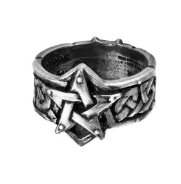 Celtic Theurgy Gothic Ring By Alchemy Gothic