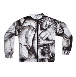 Antique Women's Printed Bomber Sweatshirt Gagaboo