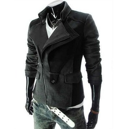 Men's Black/Gray/Red Double Wide Jacket