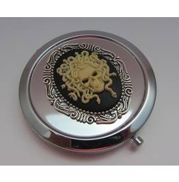 Compact Mirror Medusa Comes Protective Pouch