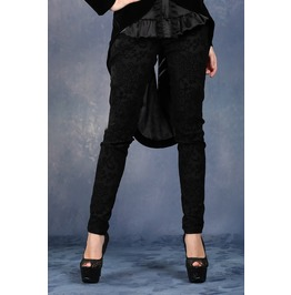 Pw071 Gothic Flocking Pants