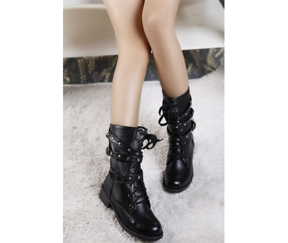 strappy_black_motorcycle_ankle_army_boots_buckles_boots_5.jpg