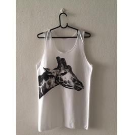 Giraffe Animal Indie Pop Rock Vest Tank Top