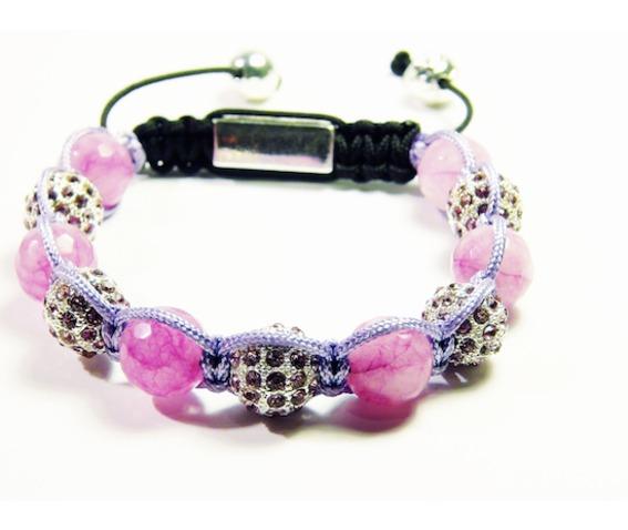 pink_agate_natural_stone_disco_ball_shambhalla_bracelet__bracelets_2.jpg