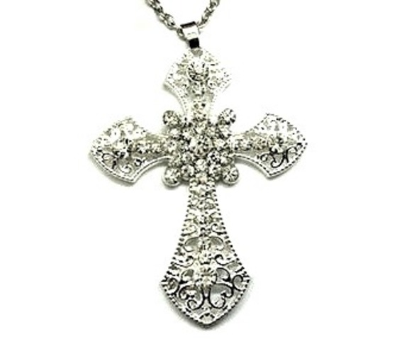 awesome_large_silver_metal_crucifix_pendant_with_clear_crystals_pendants_2.jpg