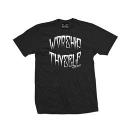Men's Worship Thyself T Shirt (Black)