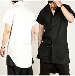 U Hem Accent Long Shirts 101