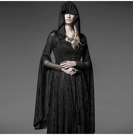 Fashion Gothic Punk Fitted Coats