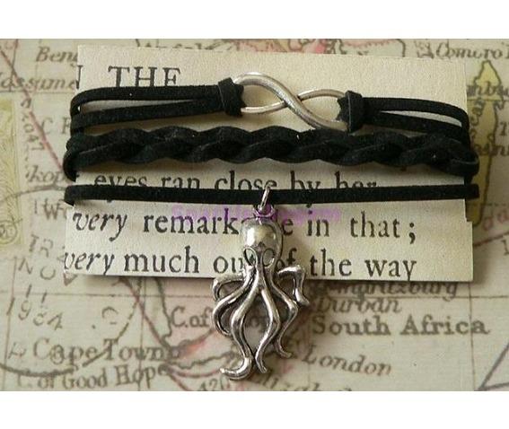 black_suede_wrap_bracelet_with_cthulhu_charm_bracelets_2.jpg