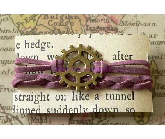 mauve_suede_wrap_bracelet_with_cog_bracelets_2.jpg