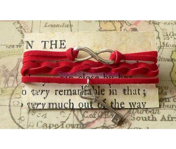red_suede_wrap_bracelet_with_key_charm_bracelets_2.jpg