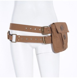 Smart Steam Punk Cogs Belt Bag B039