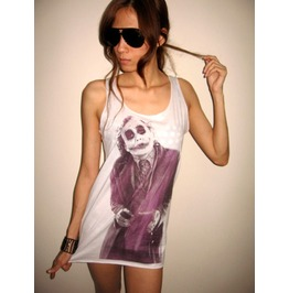 Joker Tribute Vintage T Shirt Tank Top