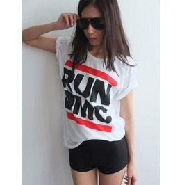 Run Dmc King Rock Rap Hiphop Rock T Shirt M