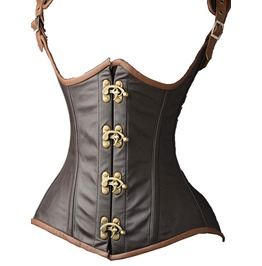 Under The Bust Steampunk Corset