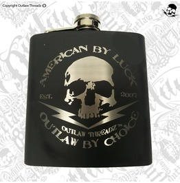 Outlaw Threadz Outlaw Flask
