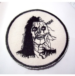 Embroidered Zombie Patch Badge Sew/Iron On