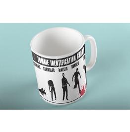 Zombie Identification Chart Mug