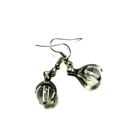 Dragon Claw Earrings Steampunk Talisman Talon Handmade Gift By Aunt Matilda
