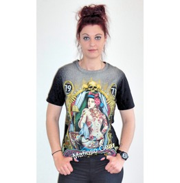Tattoo Girl T Shirt (Unisex)