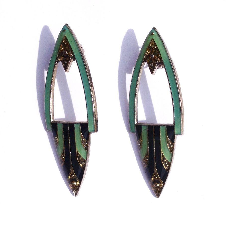 vintage_elegance_1920_art_deco_design_enamel_green_black_and_gold_earrings_earrings_2.jpg