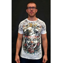 Psychotic Clown T Shirt (Unisex)