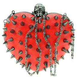 Anarchy Heart Bag Red
