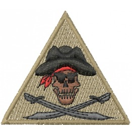 Embroidered Skull And Crossbones Pirate Iron/Sew On Patch Badge Skull Patch