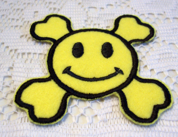 embroidered_smiley_face_happy_face_skull_and_crossbones_iron_sew_on_patch_patches_2.jpg