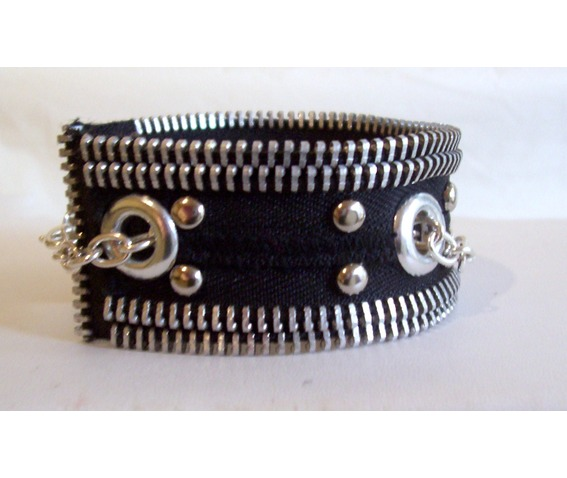 handmade_black_and_silver_zipper_bracelet_with_studs_grommets_chain_bracelets_6.jpg