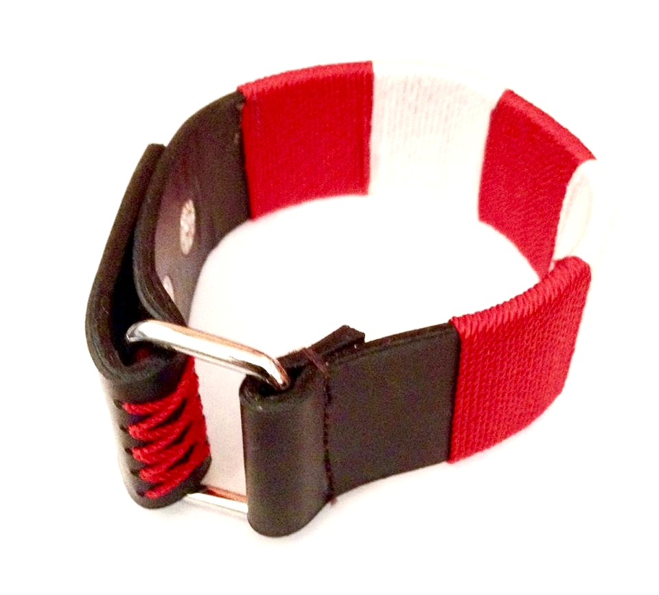 awesome_scarlet_red_and_white_bound_chord_on_black_leather_wristband_bracelets_4.jpg