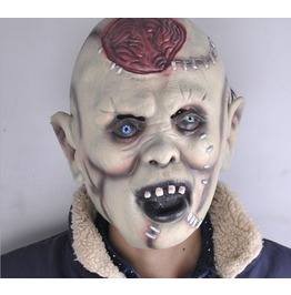 Scary Halloween Mask Headgear Bar Decoration Props Super Horror Devil